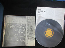 Red Garland Groovy Japan Vinyl LP Signed by Red Cobb Lou Donaldson Jamil Jazz