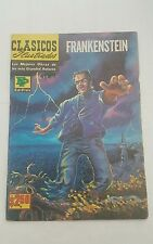 classics illustrated  mexican edition, clasicos ilustrados # 171 ,frankenstein