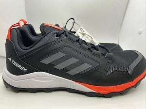 Adidas Terrex Agravic TR Trail Running Shoes FZ3266 Black/Orange Sz 12.5