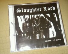 Slaughter Lord Thrash Til Death cd new sealed