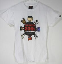 ECSTASY JAPAN STYLE UNISEX T SHIRT SIZE S Small WHITE