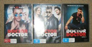Doctor, Doctor - Series 1-3 DVD (9 discs) - VGC