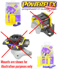 For Ford Fiesta MK6 ST150 Powerflex Engine & Gearbox Mount Inserts PFF19-1120/21
