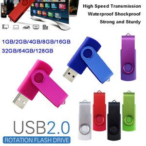 USB 2.0 FLASH DRIVE MEMORY STICK USB STICK 8 GB 128GB 64 GB 32 GB  SPEICHERSTICK