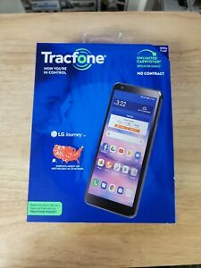 Tracfone LG Journey 4G LTE Prepaid Smartphone Black 16 GB SIM Card Included Cell