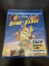 Brand New Home on the Range BluRay + DVD DISNEY