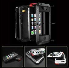 Dust & Waterproof Shockproof Aluminum Gorilla Metal Cover Case for iPhone 5 5S