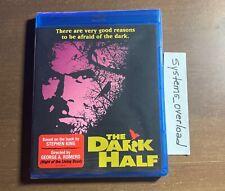 The Dark Half (1993) Blu-ray Scream Factory King Romero OOP BRAND NEW SEALED