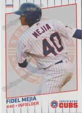 2019 South Bend Cubs Fidel Mejia RC Rookie Chicago