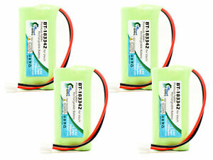 4x Replacement Battery for AT&T TL86109, TL96271, CL83463 Cordless Phone