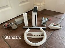 Nintendo Wii White Console  X1 Controller STANDARD FREE PP