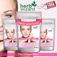 Collagen Anti AGING 700mg 60 Capsules Healthy Skin Anti Ageing Tissue Joints x3
