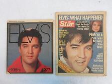Two ELVIS PRESLEY Newspaper Memorial Issues 1977 Milwaukee Sentinel & The Star