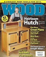 Wood magazine Heirloom hutch Wall shelf Wine rack Doll bed iPad easel Routers