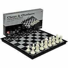 Yellow Mountain Imports 2 in 1 Travel Magnetic Chess and Checkers Game Set 14