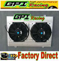 Aluminum Radiator Shroud +fan Ford Falcon BA BF V8 Fairmont XR8 &XR6 Turbo  GPI
