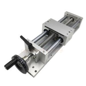 100MM 200MM Stroke CNC Linear Module Sliding Table XYZ Axis Cross Slide Linear
