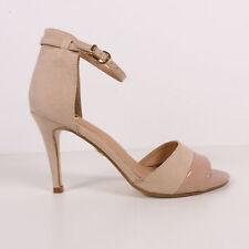 BUFFALO Riemchen Sandaletten Pumps High Heels Damen Rosa EUR 39 Shoes Sandals
