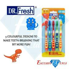 Childrens Toothbrush Fun Pack Kids Extra Soft Bristle Small Brush head Pack of 5