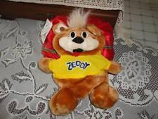 HBC Zellers Retired Mascot ZEDDY Bear in Satin Zip Bag