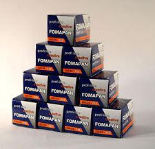 Fomapan 200 ASA 135-24  Pack Of Ten