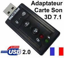 Tarjeta de sonido USB Audio Micro 3D Estéreo 7.1 para PC & PS3