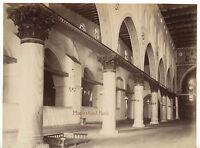 Medio Orient Mezquita Albuminada Vintage Aprox 1875