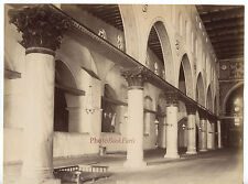 Mittelgroß Orient Moschee Albumiertes Vintage Ca 1875