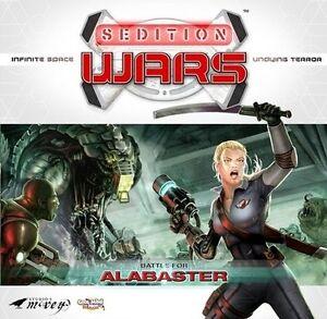 Sedition Wars Battle for Alabaster - Brettspiel - Boardgame - NEU