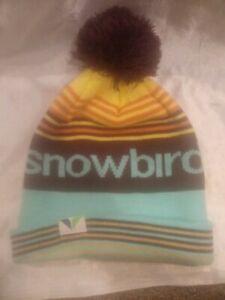 SNOWBIRD STOCKING SNOW KNIT HAT UNISEX