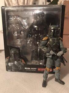 Star Wars MEDICOM MAFEX Boba Fett Empire Strikes Back Action Figure - US Seller