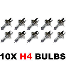 PACK OF 10 - H4 472 CAR BULBS HEADLAMP HEADLIGHT 12v 60/55w FOG DIP AND MAIN BEA