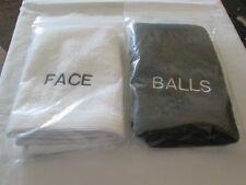 "New 2 x Flannels ""FACE"" & ""BALLS"""