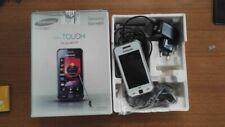 Samsung star 5230w wifi bianco BOXATO completo accessori smartphone