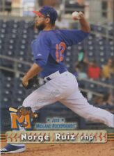 2018 Midland RockHounds Norge Ruiz RC Rookie Oakland Athletics