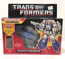 HIGHBROW Headmaster 1987 Vintage Hasbro G1 Transformers SUPER DUPER in BOX