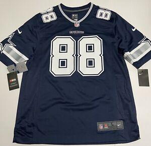 Nike Dallas Cowboys Dez Byrant Jersey Navy Blue Jersey NEW Men's L Large