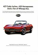1967 CHEVROLET CORVETTE 427/435-HP CONVERTIBLE  ~  GREAT INSURANCE AD