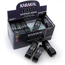 24 x Karakal Super PU Replacement Grips Black - Tennis - Squash - Badminton