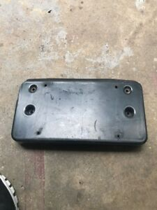 Genuine Mercedes Benz Front License Plate Bracket W220 S Class  S500 S600 Amg