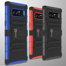 Protective Case & Belt Clip Holster Hard Cover for Samsung Galaxy Note 8