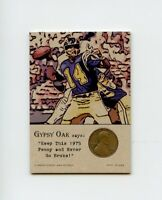DAN FOUTS Chargers 1975 Penny Insert NEVER GO BROKE Trade Card RARE