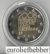 Frankrijk  2 Euro 2008  Commemorative   E.U.in CAPSULE