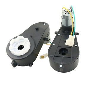 12V 30000RPM Electric Motor with Gear Box for Kids Power Wheels Jeep Ride On