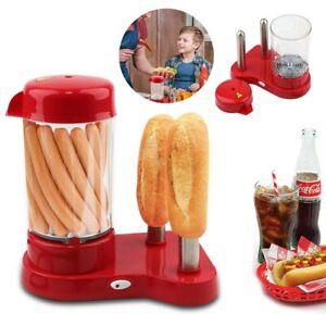 Kitchen Hot Dog Machine Mini Home Fast&Efficient Party Essential Hot Dog Machine