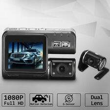 HD 1080P Car DVR Dual Lens Video Recorder Night Vision Camera Rearview Dash Cam