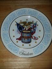 1974 Vintage Avon Freedom Porcelain Plate