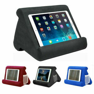 Tablet Kissen Halterung Ständer iPad Handyhalter Laptop Buch Lesekissen E-reader