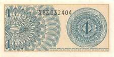 Indonesia  *1*  Sen  1964  Series XBZ Replacement  Uncirculated Banknote SF1117R