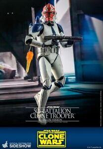 Hot Toys 501st Battalion Clone Trooper (Deluxe) 1/6 Scale Figure